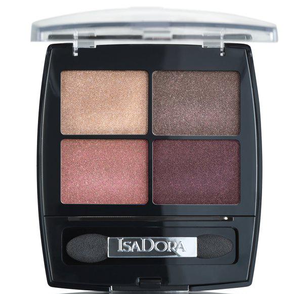 IsaDora Metropolitan 21 Eye Shadow Quartet Metropolitan Autumn Makeup 2019