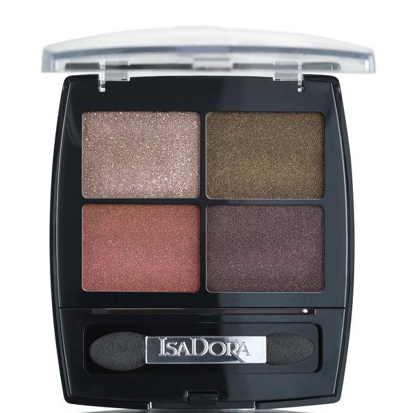 IsaDora Urban Jungle 20 Eye Shadow Quartet Metropolitan Autumn Makeup 2019