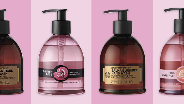 The Body Shop New Hand Wash 2019