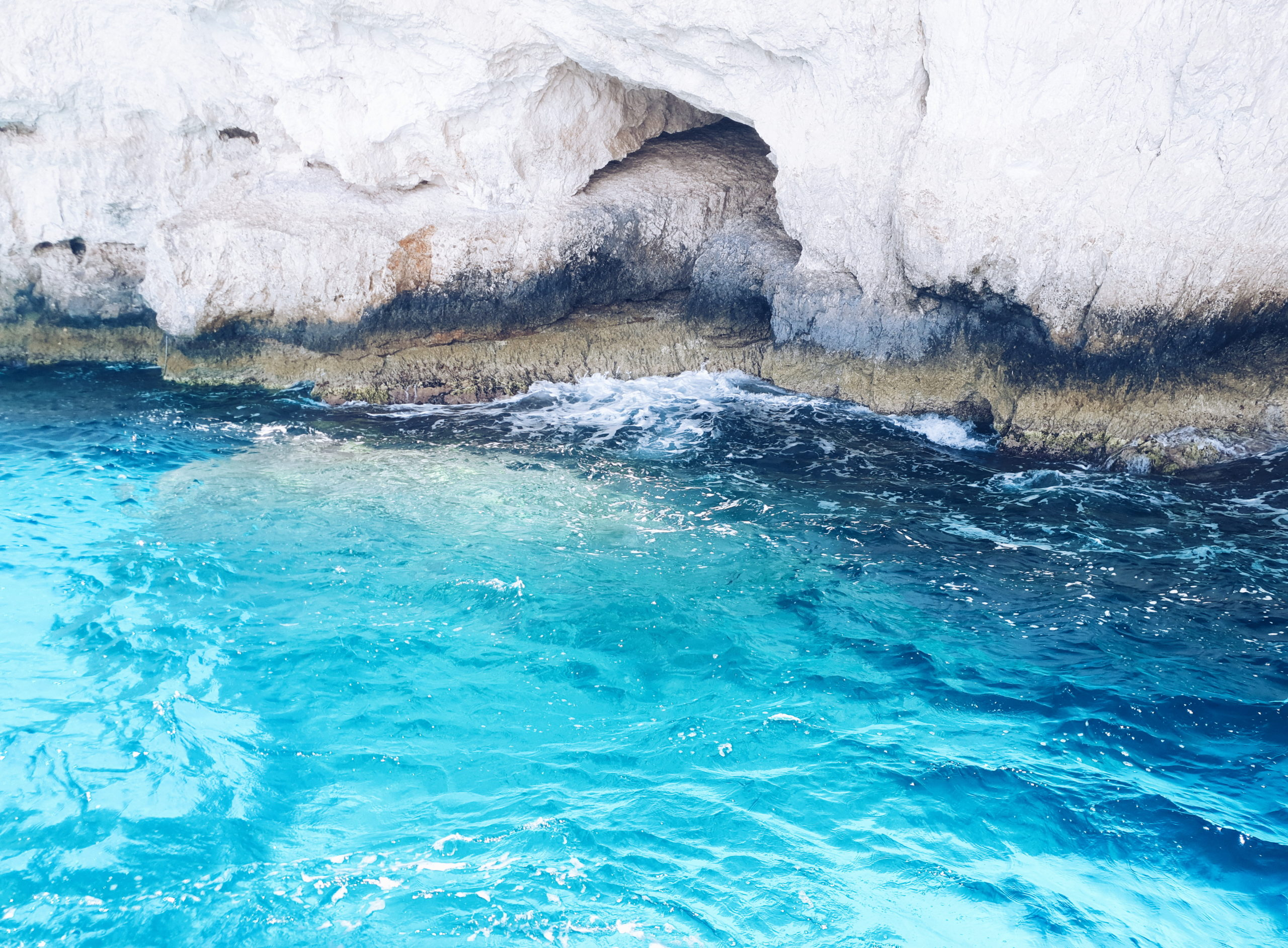Blue Caves Zakynthos, Mediterranean Sea