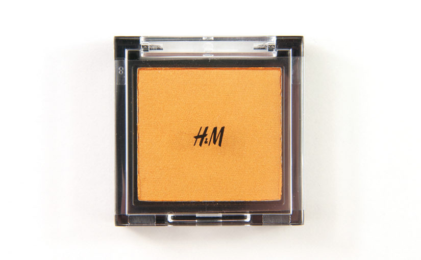 H&M Mandarin Gold Eye Colour