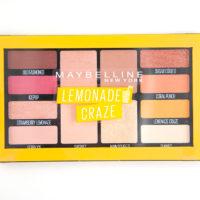 Maybelline Lemonade Craze Eyeshadow Palette