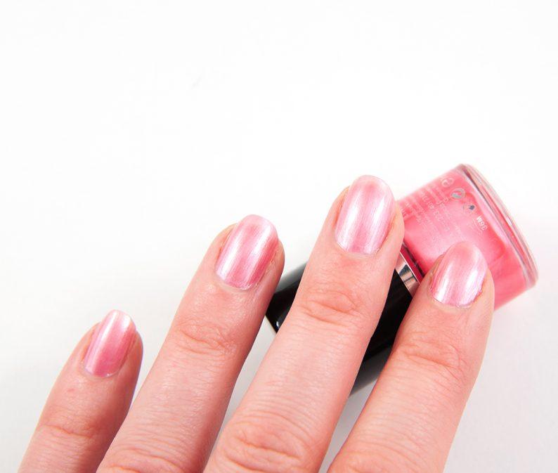 Lindex Coral Pink Nailpolish