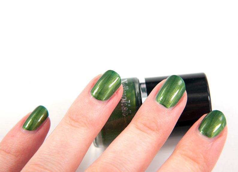 Lindex Forest Green Nail Polish