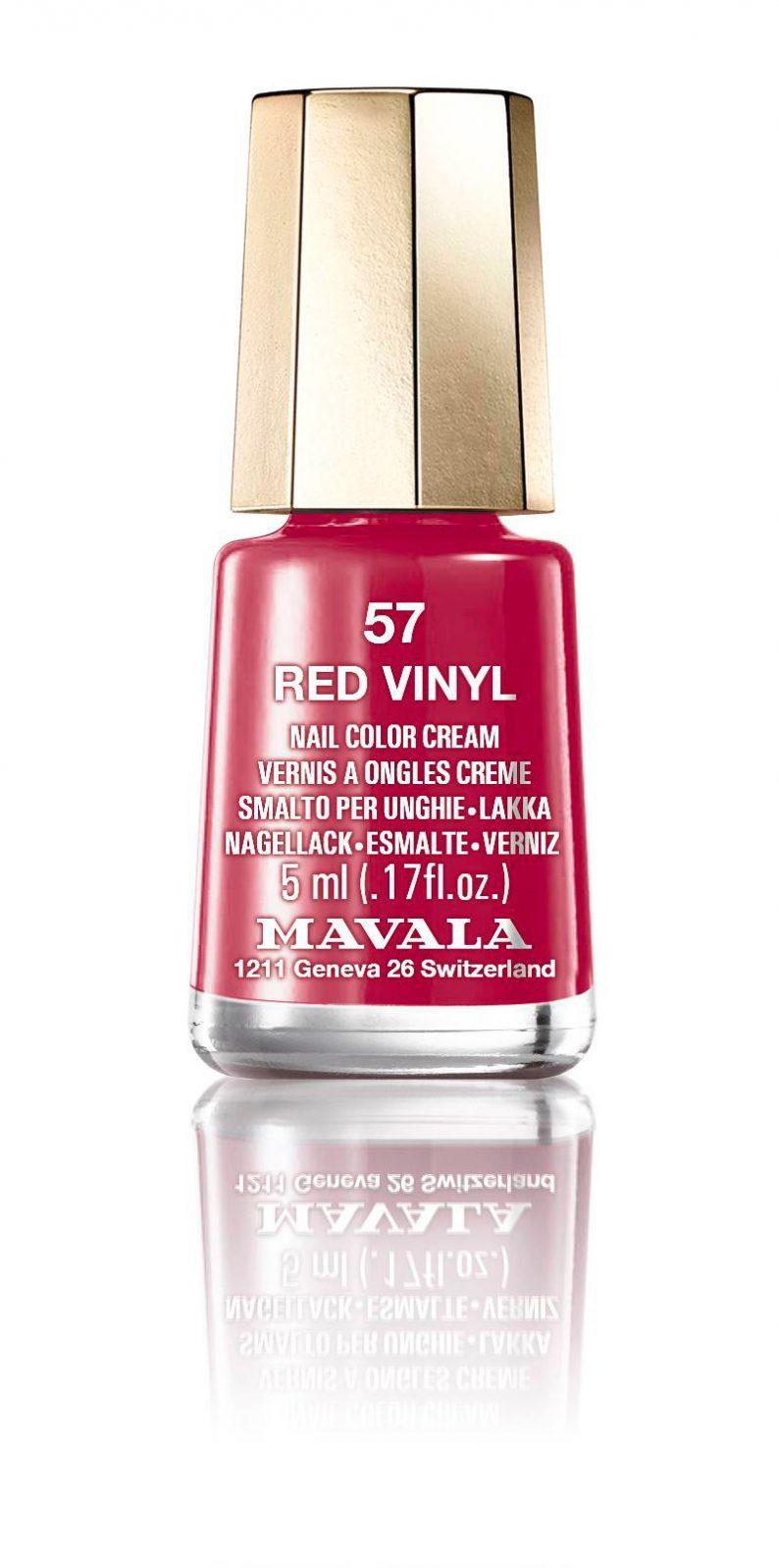 Mavala Red Vinyl