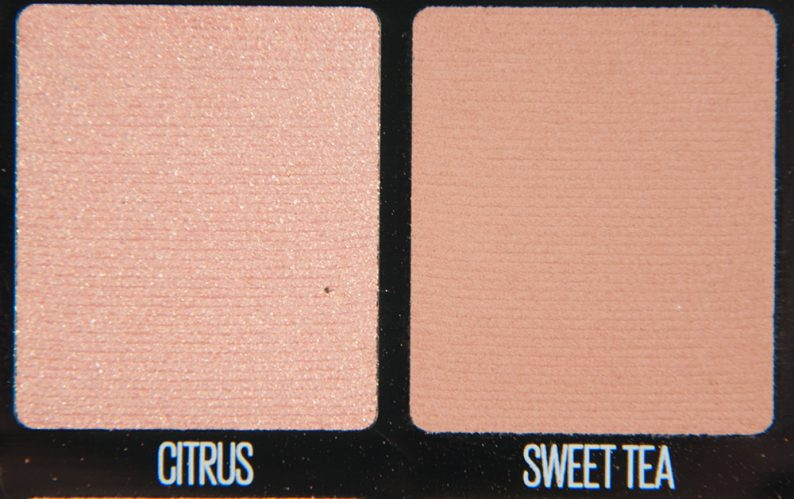 Maybelline Citrus & Sweet Tea Eyeshadow