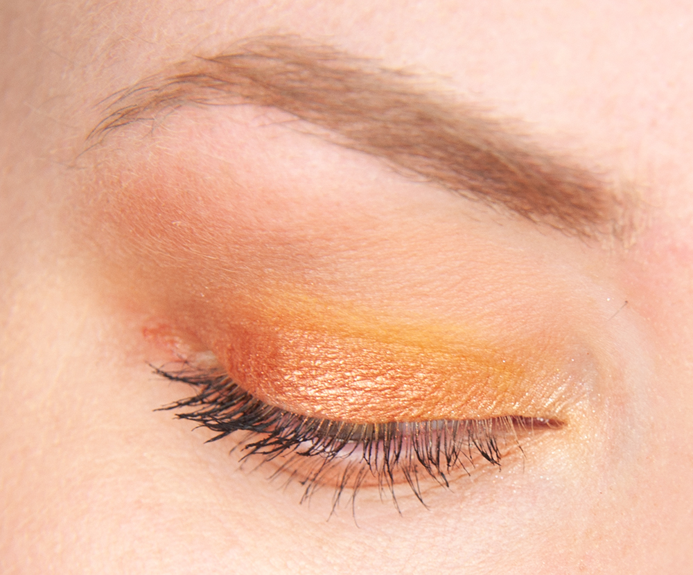 Maybelline Lemonade Craze Eyeshadow Swatches