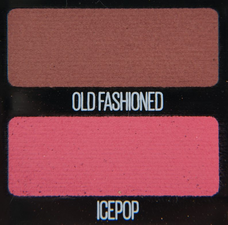 Maybelline Icepop & Old Fashioned Eyeshadow