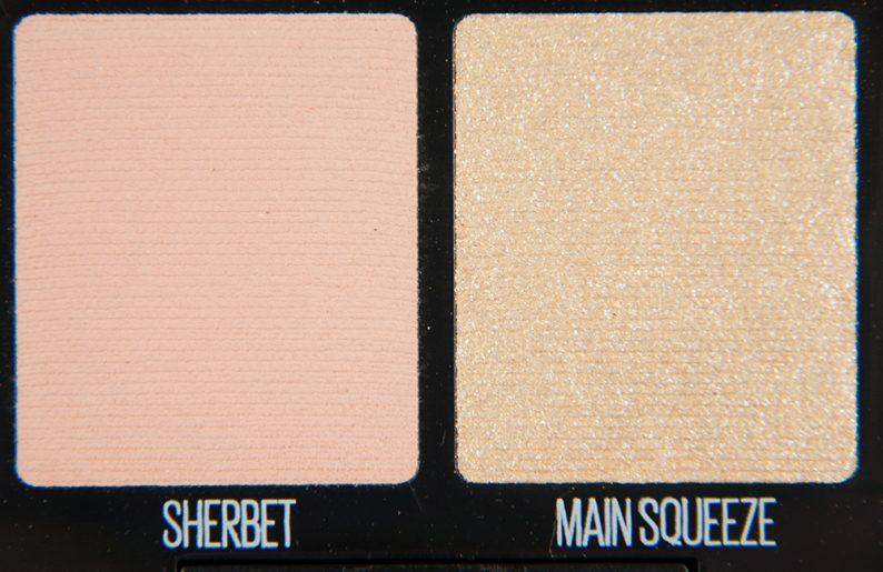 Maybelline Sherbet & Main Squeeze Eyeshadows