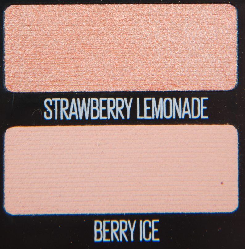 Maybelline Strawberry Lemonade & Berry Ice Eyeshadows