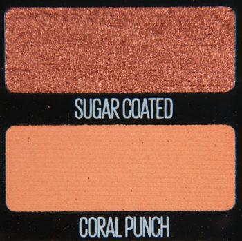 Maybelline Coral Punch & Sugar Coated Eyeshadow