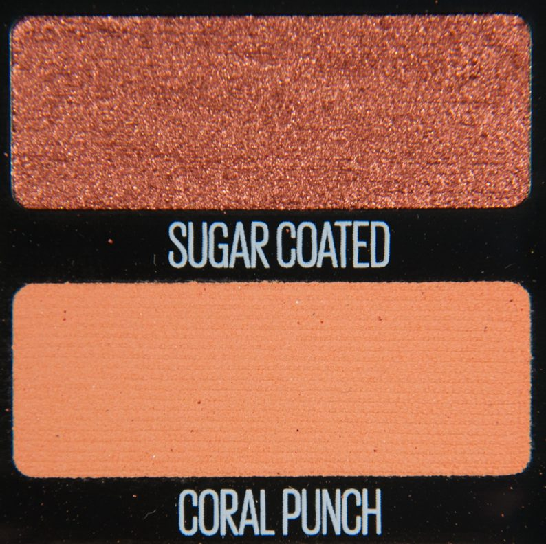 Maybelline Coral Punch & Sugar Coated Eyeshadow