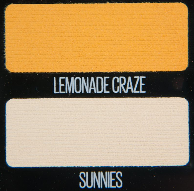 Maybelline Lemonade Craze & Sunnies Eyeshadows
