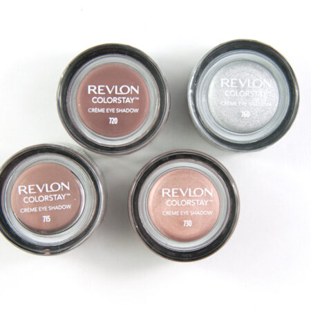 Revlon Colorstay Creme Eye Shadows 715, 720, 730, 760