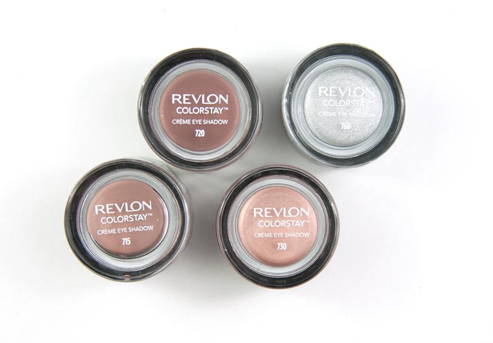 Revlon Colorstay Creme Eye Shadows 715, 720, 730, 760