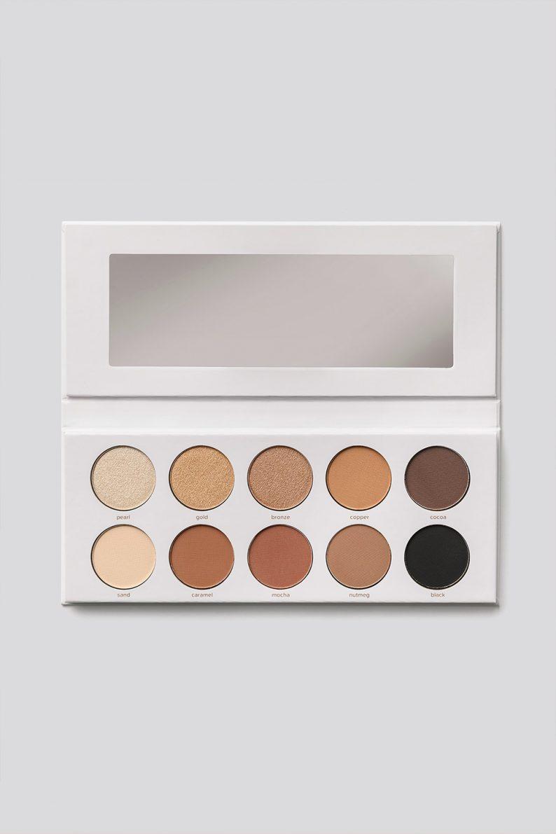 NKD BTY Bronz Eyeshadow Palette Multicolor
