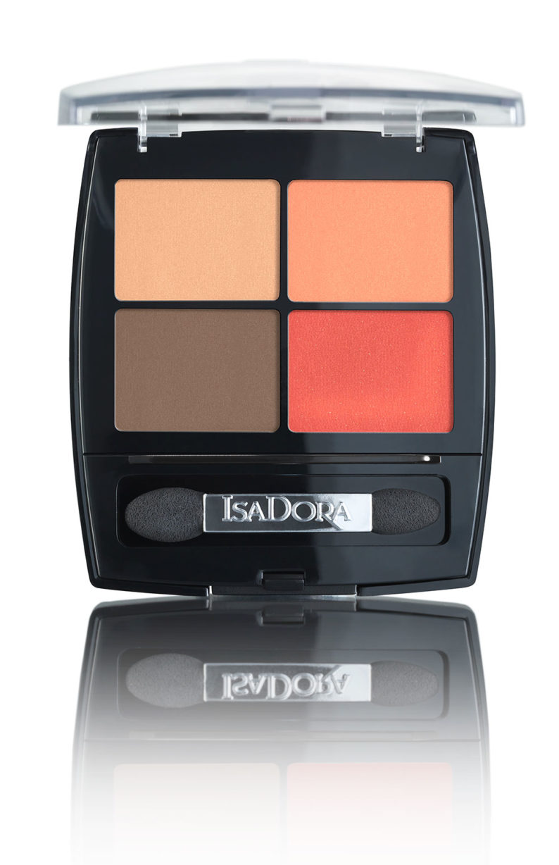 IsaDora Eye Shadow Quartet 21 Vibrant Tangerine