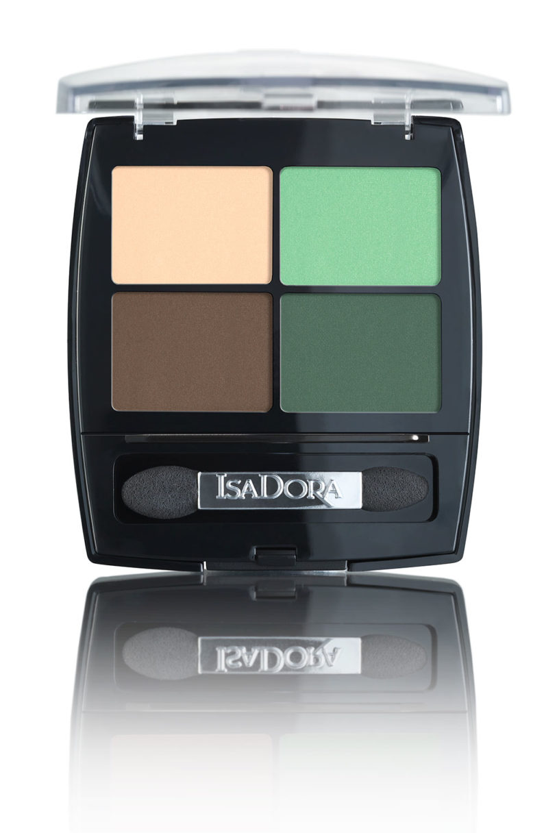 IsaDora Eye Shadow Quartet 23 Neo Mint