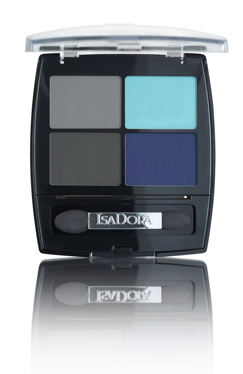 IsaDora Eye Shadow Quartet 24 Forever Blue