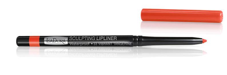 IsaDora Sculpting Lipliner 33 Vibrant Tangering