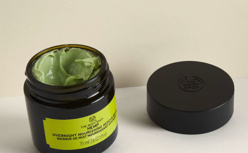 Nyhet! The Body Shop Hemp Overnight Nourishing Rescue Mask och Hemp Hydrating & Protecting Shower Oil