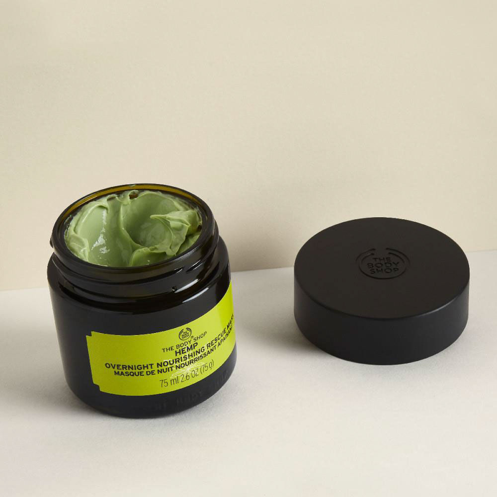 The Body Shop Hemp Overnight Nourishing Rescue Mask