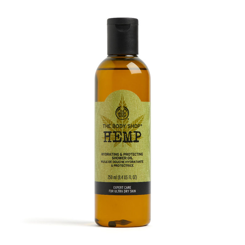 The Body Shop Hemp Hydrating and Protecting Shower Oil