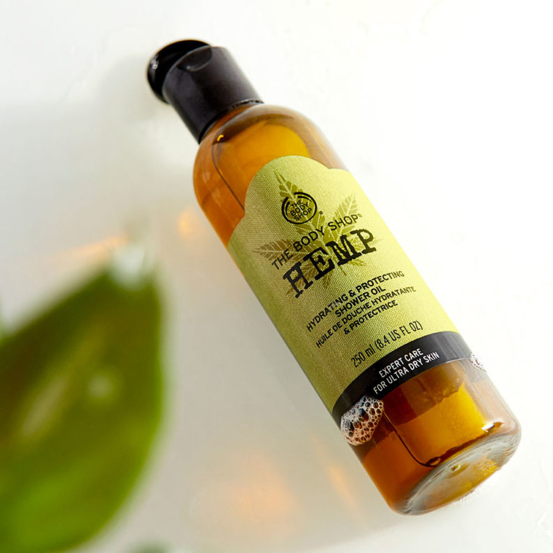 The Body Shop Hemp Hydrating and Protecting Shower Oil001