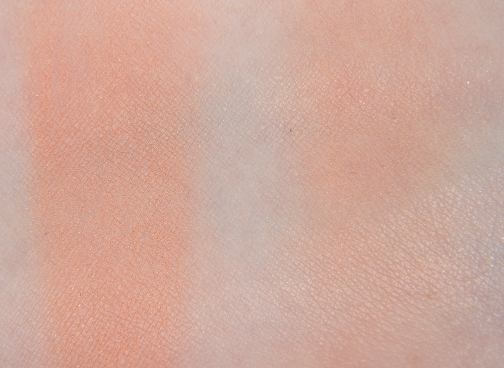 Cien Swatches Apricot Rouge Powder