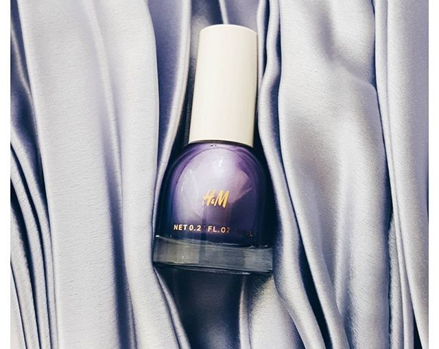 H&M Argent Lilac by @hm beauty