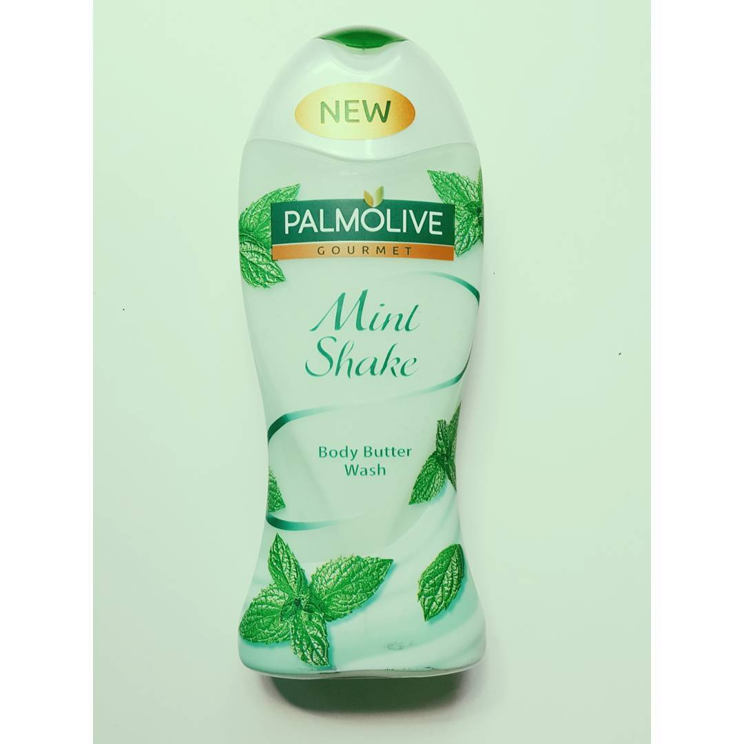 Palmolive Mint Shake Body Butter Wash