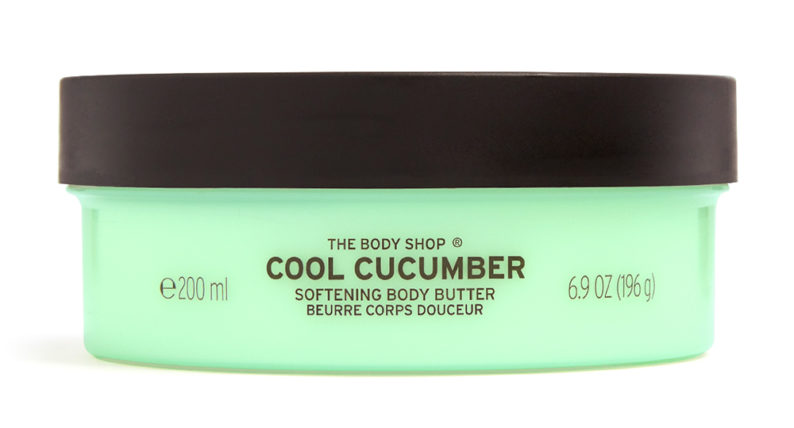 The Body Shop Cool Cucumber Softening Body Butter