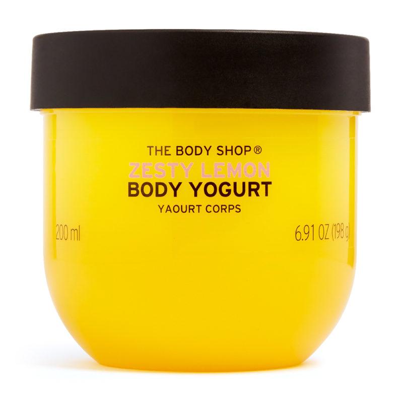 The Body Shop Zesty Lemon Body Yoghurt001
