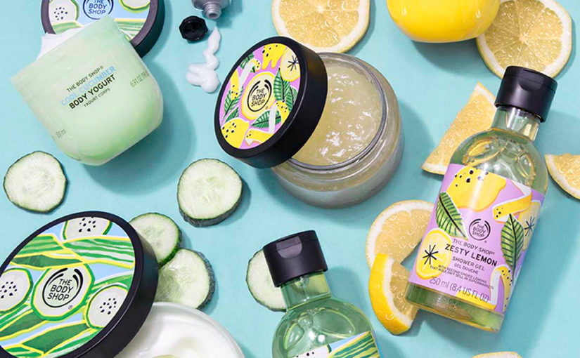 Nyhet! The Body Shop Zesty Lemon och Cool Cucumber