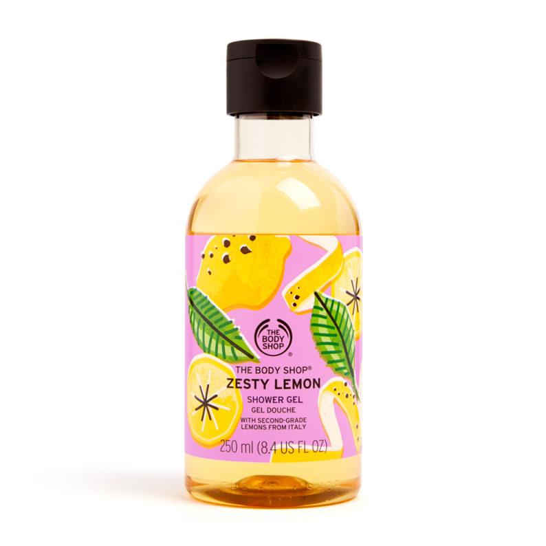 The Body Shop Zesty Lemon Shower Gel
