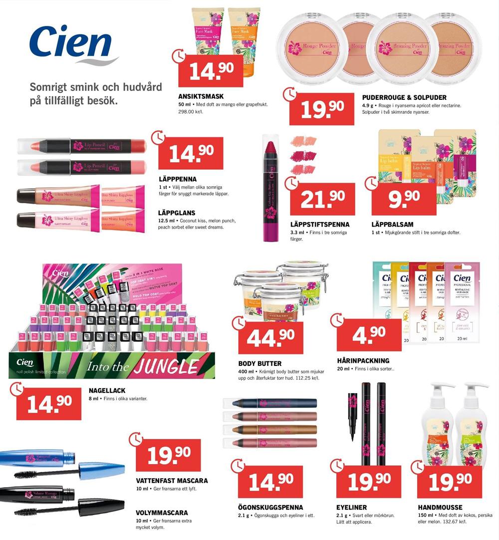 Cien Summer Makeup 2019