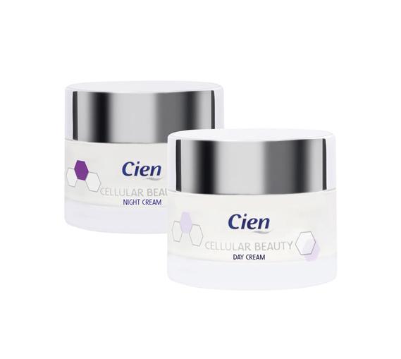Cien Cellular Beauty Day Cream Night Cream