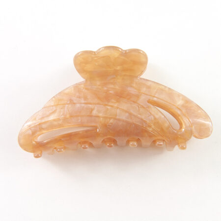 Hermine Hold Solid Hair Clip Beige
