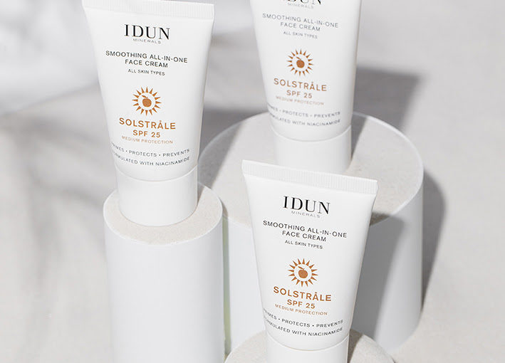 Nyhet! IDUN Minerals Solstråle All-in-one Face Cream