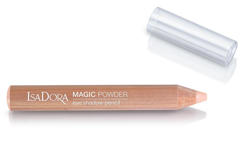 IsaDora 31 Icy Apricot Magic Powder Eyeshadow Pencil Bronzing Collection 2020