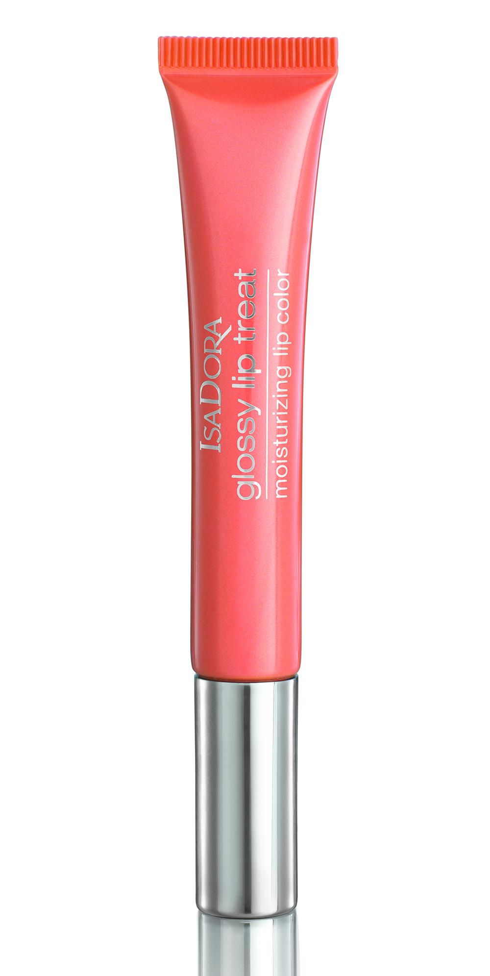 IsaDora 66 Papaya Sparkle Glossy Lip Treat Bronzing Collection 2020