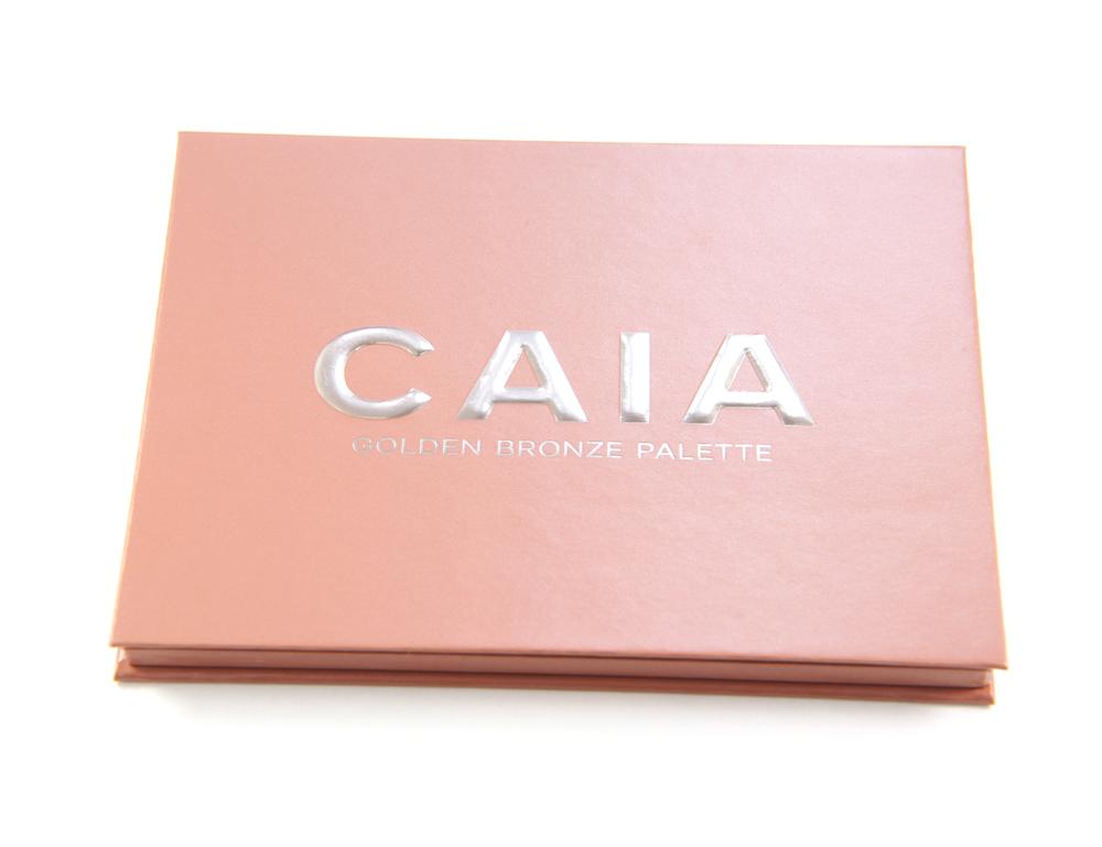 Caia Cosmetics Golden Bronze Palette