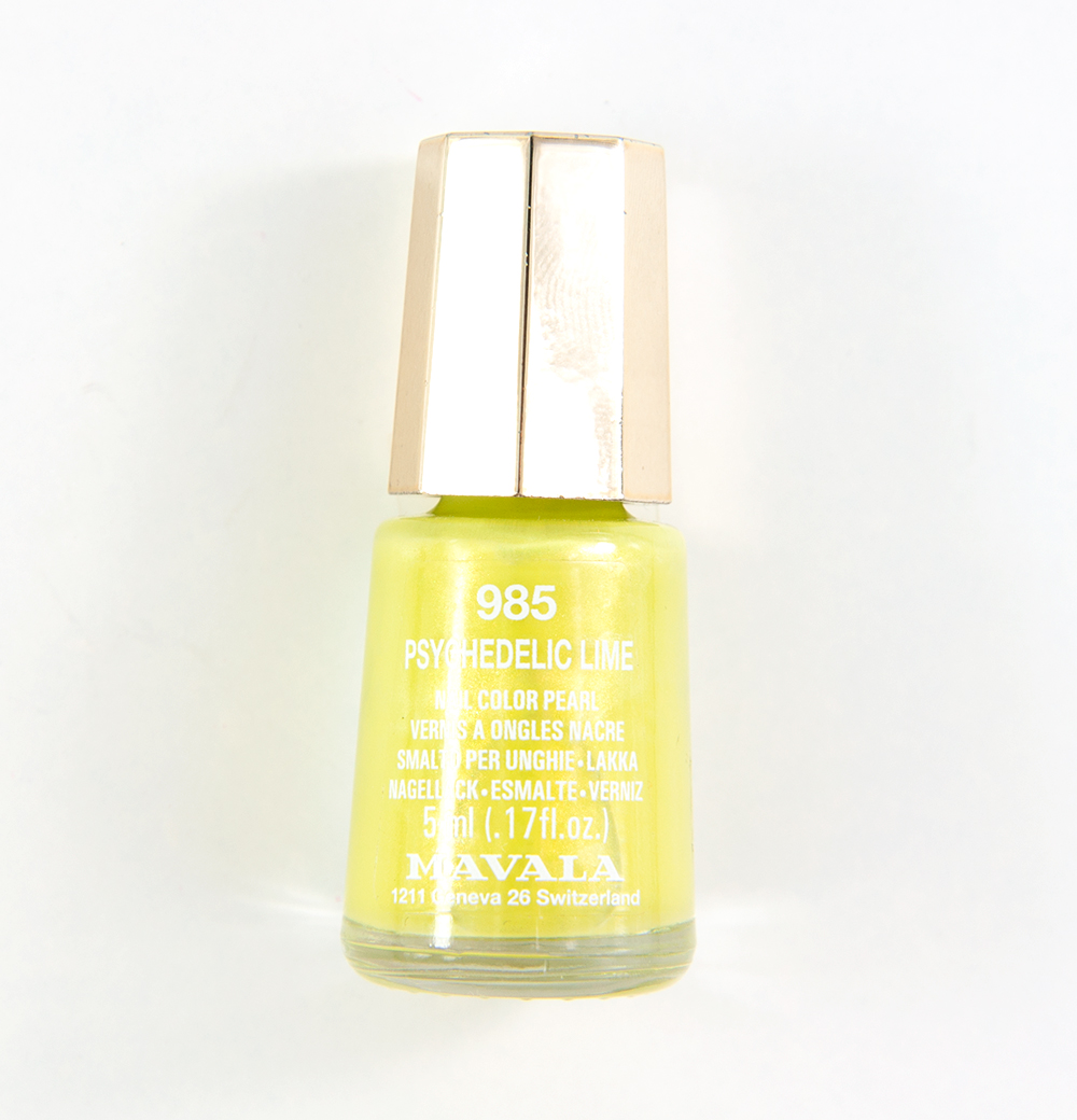 Mavala Psychedelic Lime (985) Nail Color Pearl