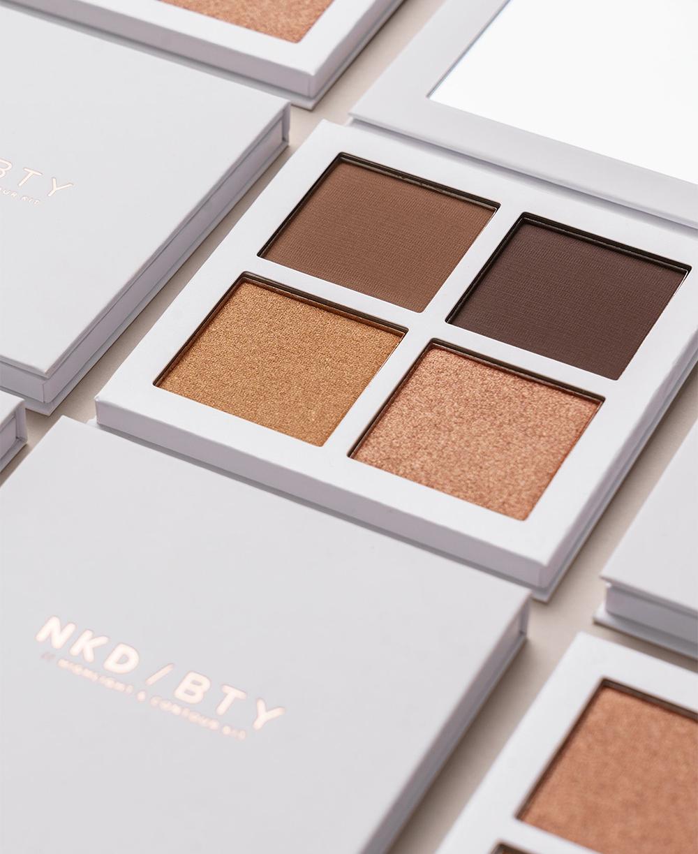 NAKD Beauty NKD / BTY Highlight & Contour Kit Deep Dark