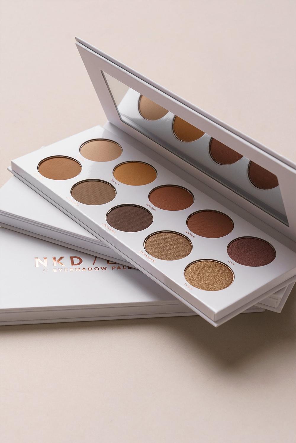 NAKD Beauty NKD / BTY Warm Eyeshadow Palette