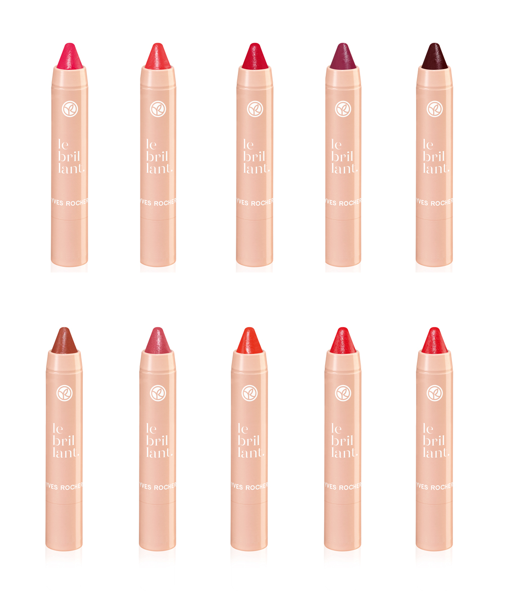 Yves Rocher Le Brillant Lip Crayons