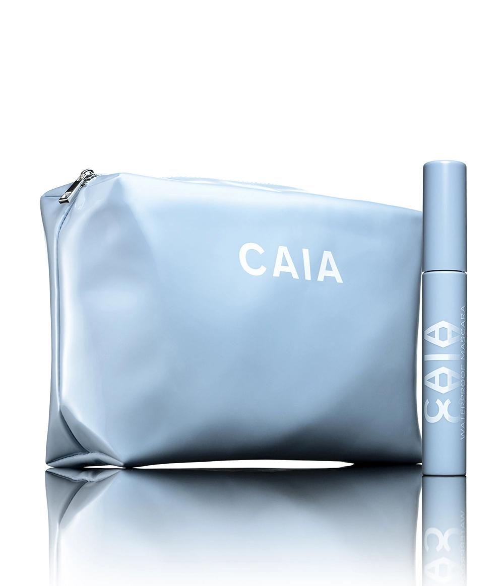 Caia Waterproof Kit Mascara & Blue Toilet Bag