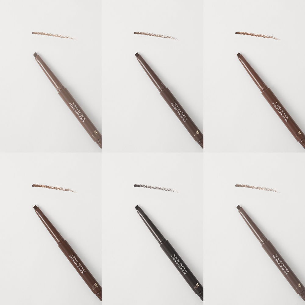 H&M Brow Maximiser Pomade Pencil Swatches