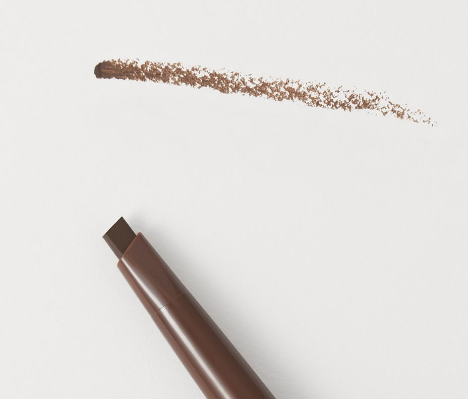 H&M Chocolate Brown Brow Maximiser Pomade Pencil Swatches