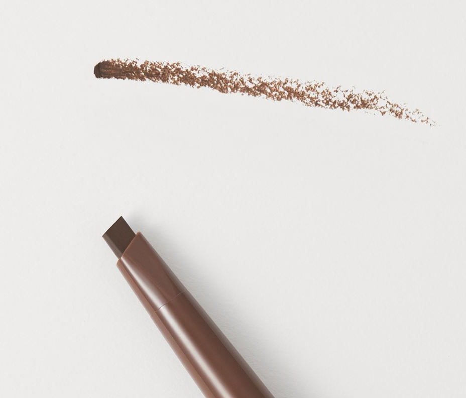H&M Dark Walnut Brown Brow Maximiser Pomade Pencil Swatches